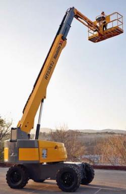 HT23RTJ –  noua platformă aeriană cu braţ telescopic