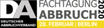 Fachtagung Abbruch (German Demolition Conference)