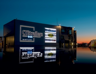 INFRASTRUCTURA COMPANIEI CTE Trailers - STATE OF THE ART