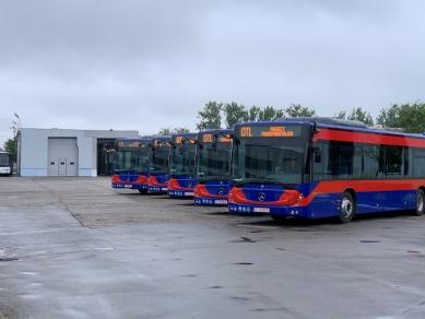 Flota Oradea Transport Local înnoită cu 7 noi autobuze Mercedes-Benz: Conecto și Citaro Hybrid