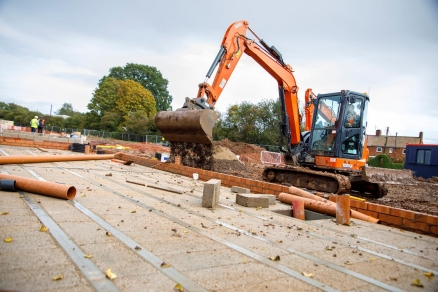 Hitachi Zaxis-6 mini excavator proves powerful and fuel-efficient