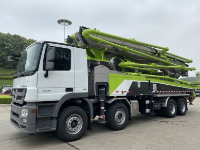 Zoomlion Concrete Machinery Enter the European Market