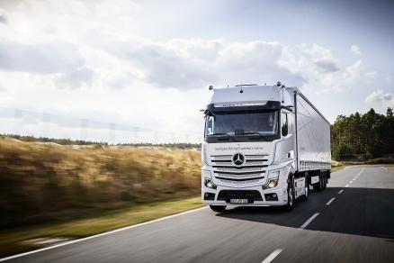 Cateva ore impreuna cu regele soselelor – test drive Mercedes-Benz ACTROS