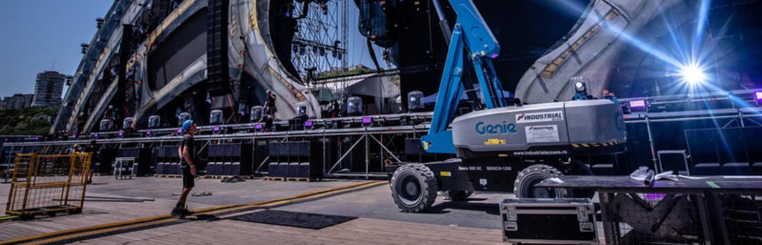 Industrial Access se bazează pe soluția telematică «Genie® Lift Connect™»