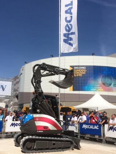 MECALAC at Conexpo 2020 in Las Vegas