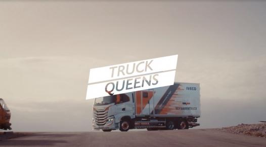 IVECO a făcut echipă cu Ogilvy și Freeda pentru a spune poveștile a trei femei de neoprit în viața lor de zi cu zi în lumea transporturilor