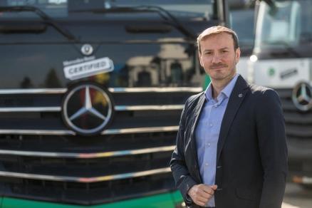 Mercedes-Benz Trucks & Buses România anunță schimbări importante la nivel de management