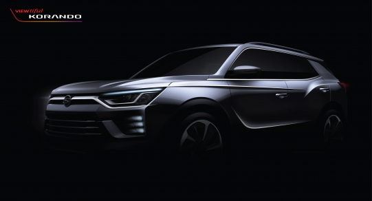 SsangYong dezvaluie imagini in avanpremiera a SUV-ului sau de marime medie, Korando, inainte de debutul acestuia la Salonul Auto de la Geneva 2019