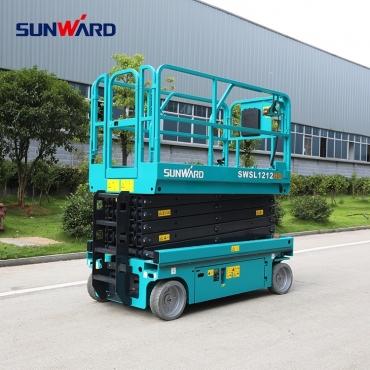 Nacela Sunward SWSL 1212HD,  un utilaj la înălțime