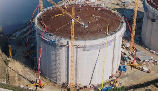 Rezervoarele LNG din Murgados, Spania