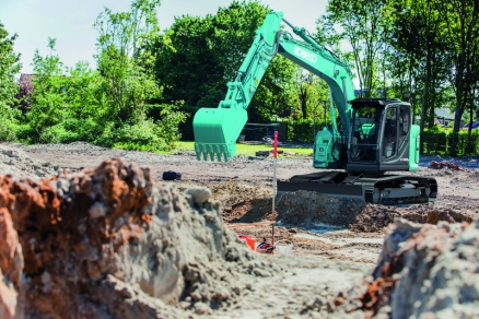 New Kobelco SK140SRLC-7 delivers exceptional performance, capability andoperator experience through harmonisation