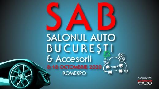 Drive into the future @SAB2020 - Salonul Auto București & Accesorii, 8 – 18 octombrie, ROMEXPO