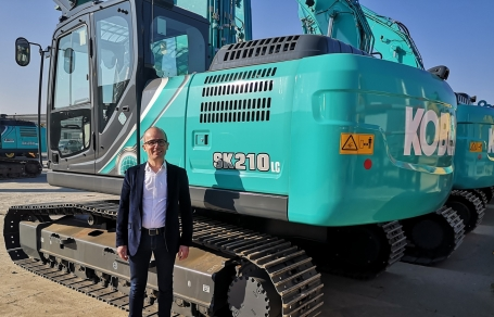 Kobelco Construction Machinery continues to expand French network