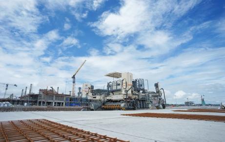 CONSTRUIREA AEROPORTULUI INTERNAȚIONAL YOGYAKARTA S-A BAZAT PE CEA MAI EFICIENTĂ ECHIPĂ LA SOL DIN ASIA