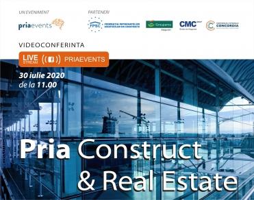 VIDEOCONFERINTA LIVE: Pria Construct & Real Estate