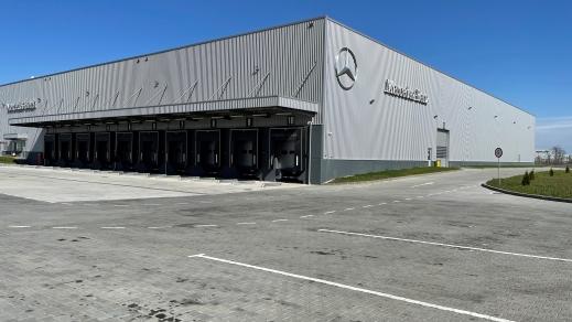 Mercedes-Benz România deschide un nou Centru de Logistică în Dragomirești-Vale