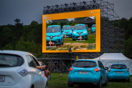 Clienţii Renault au fost vedetele UNUI eveniment Drive-in cinema EXCLUSIV