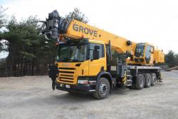 GROVE TMC540 - performanta, mobilitate si fiabilitate