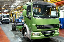 DAF LF Hibrid intra în productie