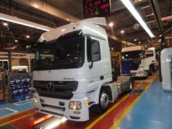 Uzina din Aksaray începe productia în serie a modelului Mercedes-Benz Actros