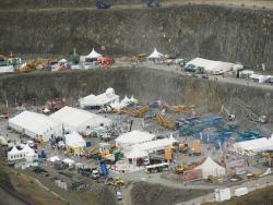 Steinexpo 2011 - pe ultima suta de metri