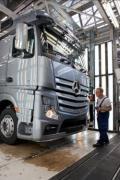 Startul productiei în serie a noului camion Mercedes-Benz Actros la fabrica din Wörth