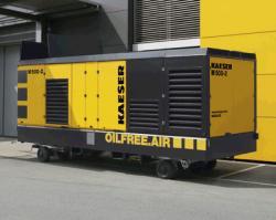 M 500-2, noul compressor portabil Kaeser