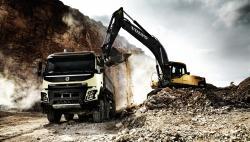 Directia dinamica de pe camioanele Volvo