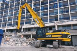 Gama JCB pentru demolare, intr-o continua dezvoltare