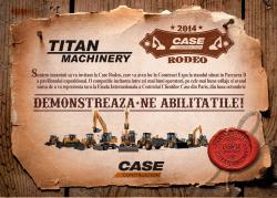 Case Rodeo by Titan Machinery la Construct Expo 2014
