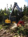 Volvo Construction Equipment la targul forestier Elmia