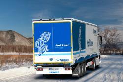 Krone aproba noile anvelope de iarna Goodyear ULTRA GRIP MAX T pentru remorcile sale