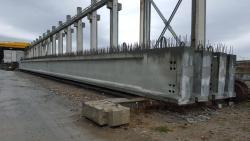 Ferrobeton Romania a stabilit un nou record national in productia de grinzi de pod pretensionate