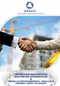 Conferinta Nationala ARACO 2015 si Trofeul Calitatii in Constructii
