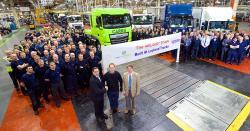 Leyland Trucks sarbatoreste productia a 400.000 de camioane