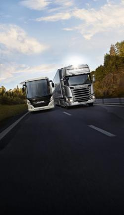 Scania are conectate 170.000 de vehicule