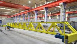 Primul pod rulant tip V fabricat in Romania