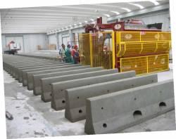 Masini mobile pentru producerea de elemente prefabricate din beton marca CGM produse in Italia