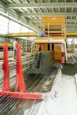 Elemente prefabricate din beton pentru poduri, obtinute prin tehnologia Slipformer