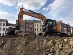 Un prim client din Belgia a fost in totalitate sedus de CX245D SR, noul excavator compact recent adaugat seriei D de la CASE