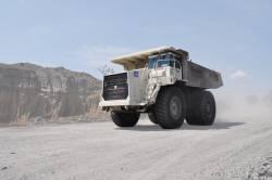 Scotienii de la Terex Trucks imbogatesc flota de masini din mina de cupru de la Rosia Poieni, cu doua basculante rigide TR100