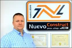 NUEVO CONSTRUCT - Pasiunea noastra pentru brandul JCB