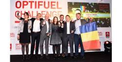 Echipa din Romania a castigat locul al II-lea la Finala Internationala Optifuel Challenge 2017