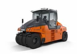 In premiera mondiala pe compactorul pe pneuri HAMM GRW 280i - Noul concept de comanda
