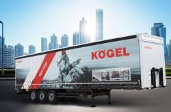 Kögel a prezentat cel mai vandut produs al sau semiremorca CARGO la expozitia Transport Complet - Hardenberg 2018