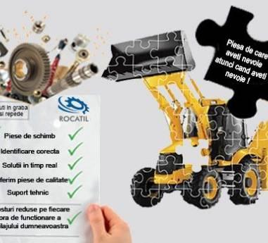 Rocatil – furnizor de incredere de piese de schimb si atasamente pentru piata utilajelor de constructii din Romania
