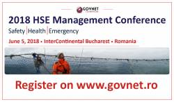 HSE Management Conference 2018 - 5 Iunie, Hotel InterContinental Bucuresti