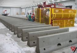 Masini mobile marca CGM ideale pentru producerea de articole din beton utilizate in infrastructura