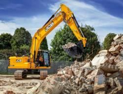 Excavatorul JCB, o capodopera pentru A.R.T. Demolition