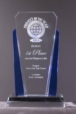Ascensorul Stone by ELMAS - Premiul I la concursul Elevator World